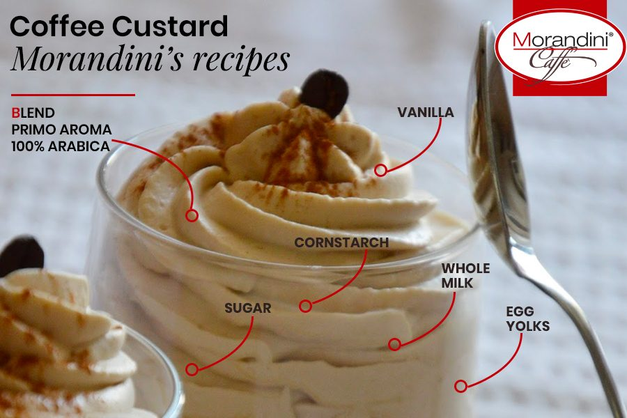 Torrefazione Morandini's recipes: Italian coffee custard