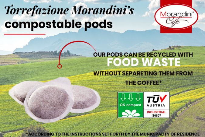 Compostable pods: Caffè Morandini gets green