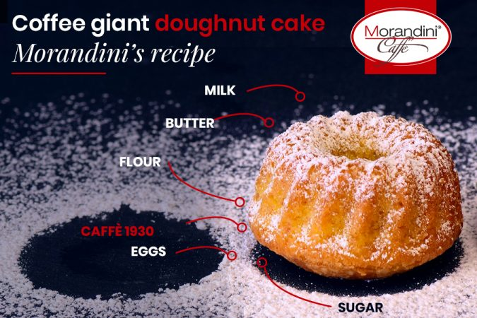 Christmas recipe: giant doughnut coffee cake: