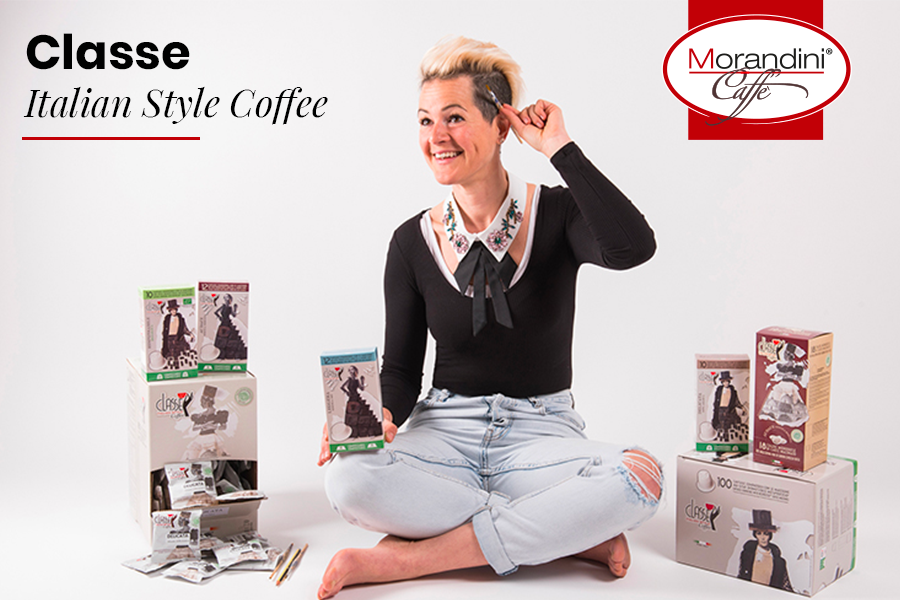 Torrefazione Morandini: a new fully compostable product line, Classe – Italian Style Coffee