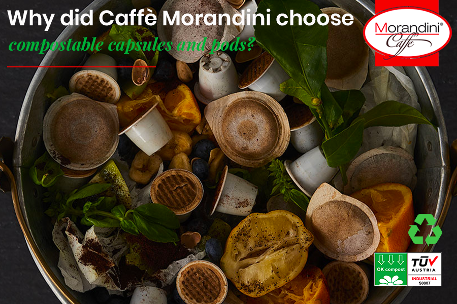 Why did Torrefazione Morandini choose compostable pods and capsules?